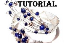 wire wrap jewelry tutorials / Step by Step Wire Jewelry Tutorials Jewelry Patterns Written instructions and very clear pictures