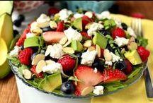 Salads! / Seasonal salads that are healthy and soooooo good!