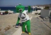 KOObee meets Crocky / KOObee and Crocky travel in Greece and have fun!