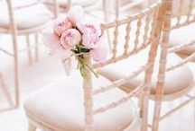 Chair decorations / Chair decorations for wedding ceremony and reception. #bow #flowers #ribbons