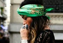 Inspiration for wearing earrings rings