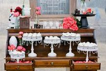 Sweet table / Sweet table buffet for wedding and party
