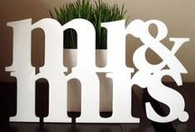 Mr & Mrs signs / Every kind of material and style for Mr & Mrs signs