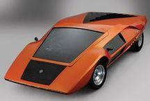 CARS / concept cars, futuristic design, utopia, nostalgia...