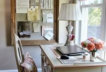 Home office inspirations / it's a place where work in peace