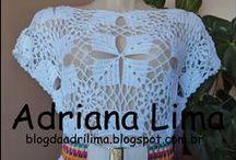 Trabalhos em crochê feitos por mim / Crochê - http://blogdaadrilima.blogspot.com.br/