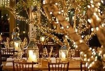 Winter Wedding / It's a special time to get married. #glitter #snow #mountain #trees #fireplace #family #silver #gold #White #warmth #red #christmastime