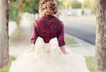 Tartan wedding ideas / If you love tartan this is your perfect theme. Non only for scottish!