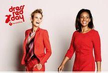 Dress Red Day / Steun de hartstichting en ga voor rood!   Van 22 september t/m 6 oktober doneert Steps van elk verkocht item uit de speciaal ontworpen mini-collectie 10% van de opbrengst aan de hartstichting.