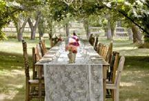 Rustic chic wedding / country style something different from shabby
