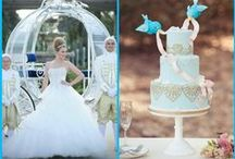 Disney tales wedding ideas / It's a board for eternal romantic bride. A child dream that comes true. Which princess are you? I love Cinderella