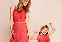 Steps Girls / Steps Girls collectie met matchende volwassen jurken.