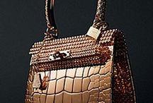 Purses Bags Clutches Etc. / by Bonnie Anderson