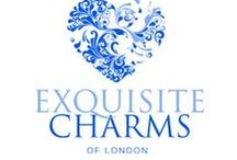 Silver Dog Charms / Exquisite Charms of London Jewelry.