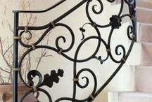The French Entrance / Inspiration on decorating an entrance in the French style