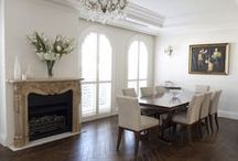 The French Dining Room / Inspiration on decorating a dining room in the French style