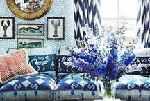 bright, eclectic, rich and warm
