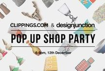 designjunction pop-up 2013 / designjunction curates clippings.com Christmas pop-up shop. Visit us from 05/12/13: 53 Monmouth Street, Seven Dials, Covent Garden, London, WC2H 9DG | Opening Hours: Mon – Sat 10am till 7pm (except Thu 10am till 9pm); Sun 12am till 6pm