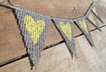 Lemon & grey wedding ideas x