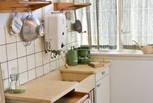 Keuken in de vorige eeuw