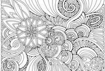 Colouring pages / by Esther Langendijk