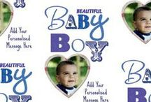 For Baby / See their little face light up with our range of personalised wrapping paper!