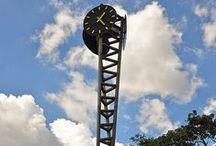 public clock / by roberto gonzalez
