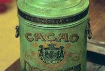 Cacao Blikken.