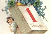 Happy New Year ! / Vintage...Happy New Year Cards.