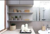Design Bathrooms - Bagni di Design / Beautiful Modern Bathrooms easy to reproduce with Design Furniture. Ispirazione arredo bagno - perfetti i mobili di design.