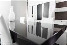 Design Tables and Chairs - Tavoli e Sedie di Design / Modern design tables with wonderful finishes and chairs with revolutionary shapes. Tavoli e sedie stile moderno realizzati in legno, vetro o materiali rivoluzionari.