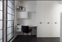 Home Office - Uffici in Casa / Working at home in a beautiful environment. Lavorare a casa in uno spazio di lavoro veramente su misura.