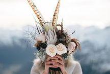 Ramos originales | Bridal Bouquet / Ideas para ramos de novia bonitos. Ramos originales, para evitar alergias innecesarias, de todo tipo de materiales... Desde lo más clásico a lo más innovador pero todos preciosos.