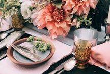 Deco Mesa de Boda | Decor - Wedding Tables / Puedes elegir entre miles de temáticas diferentes para tu boda, y es mágico que toda la decoración esté en armonía ¿no crees?.