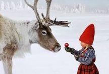 Magie de Noël / Christmas, snow, family time...