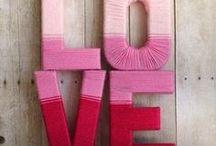 San Valentín ❤ Saint Valentine´s Day / Tablero cargado de ideas amorosas y originales para preprarar en este día lleno de LOVE :)
