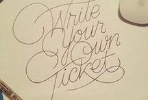 type & cali & lettering
