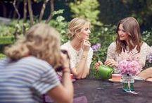 Gartenparty / Auf einer Mary Kay® Gartenparty kannst du mit deinen Mädels eine riesige Auswahl an tollen Pflegeprodukten und Make-up ausprobieren. Lass dich inspirieren!