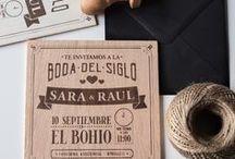 Happy Time Invitaciones / Invitaciones de madera súper originales y detalles molones para tus invitados