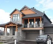 CHEO Dream Home 2017 / This year's Minto Dream Home, the Red Maple, is inspired by the 150th anniversary of Canadian Confederation and has been designed in a contemporary Canadiana theme, paying tribute to Canada's rich heritage. For a virtual tour visit: https://dreamofalifetime.ca/en/