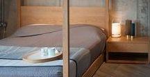 Bedroom Furniture / A range of bedroom furniture including: under-bed drawers, bedside tables and chests.