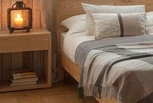Rustic Luxe - Bedrooms / Images of rustic, nature-inspired or industrial, bedrooms with a hint of luxury. A great source for ideas....