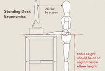Workstation Ergonomics and Posture / Ideas for setting up the optimum workstation