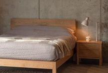 Oak Beds & Bedroom Furniture / A selection of beds and bedroom furniture in solid oak...