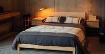 Ash wood - beds and bits / Beds, bedroom furniture and home accessories in lovely ash wood. Find solid ash beds and bedside tables at Natural Bed Company: http://www.naturalbedcompany.co.uk/ash-beds/