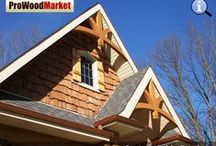 Gable Bracket - Western Red Cedar