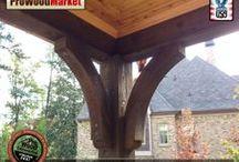 Wooden Brace - Western Red Cedar
