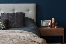 Hotel Chic / Be inspired by hotel style to create the perfect bedroom at home!