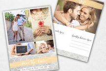Wedding / Photoshop Templates for Photographers from Eleo B. ♥ SHOP AT: etsy.com/shop/eleob