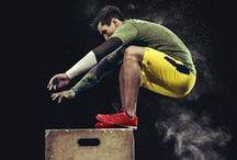 Fitness / Fitness, Sport, Workout, Entrenamiento, Rutinas, Exercise illustrations